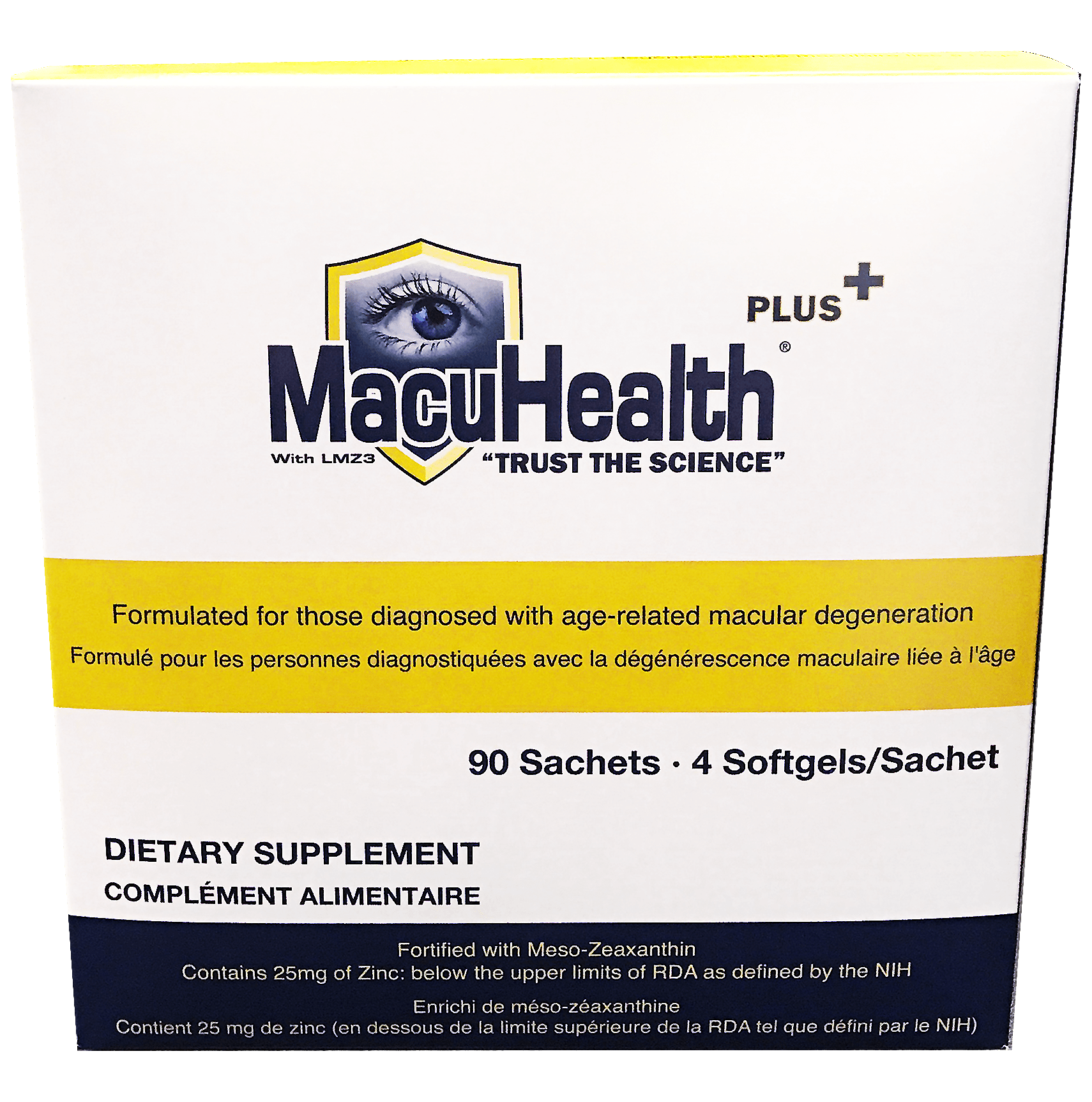 MacuHealth Plus Dietary Supplement Box