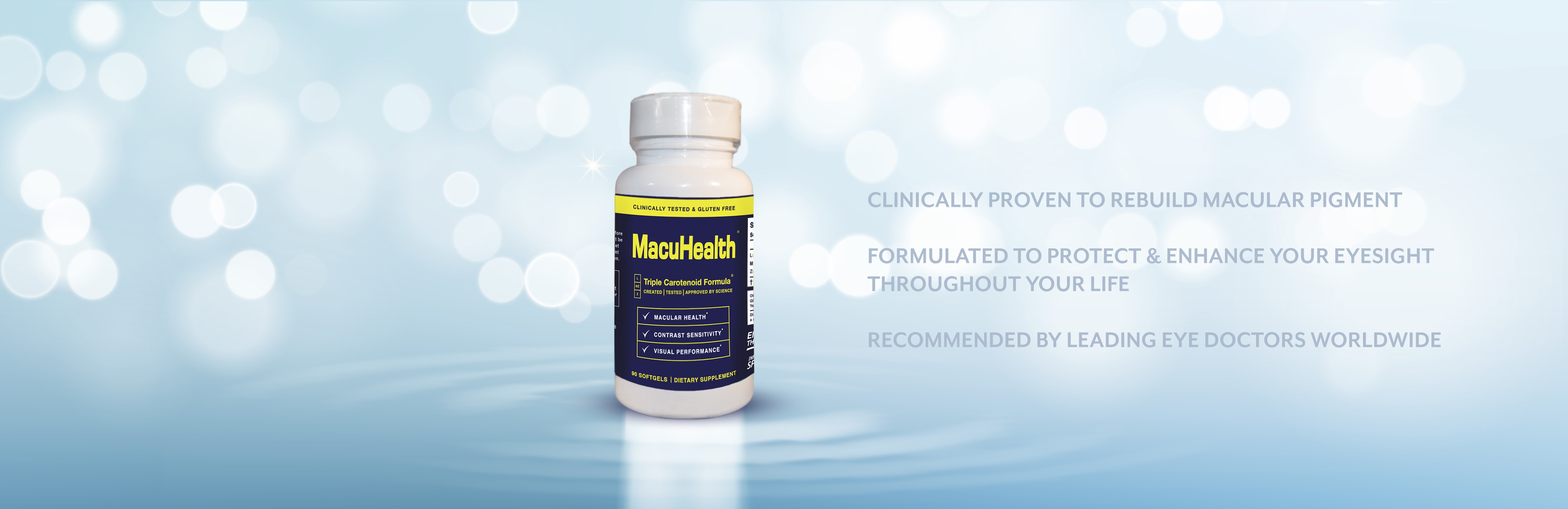 MacuHealth | Supplements for Macular Degeneration